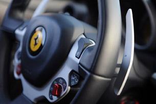2013 Ferrari FF paddle shifter