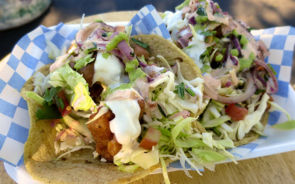 San Diego fish tacos