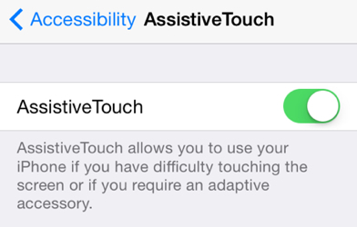 How to power off or lock the screen of an iPhone with a
