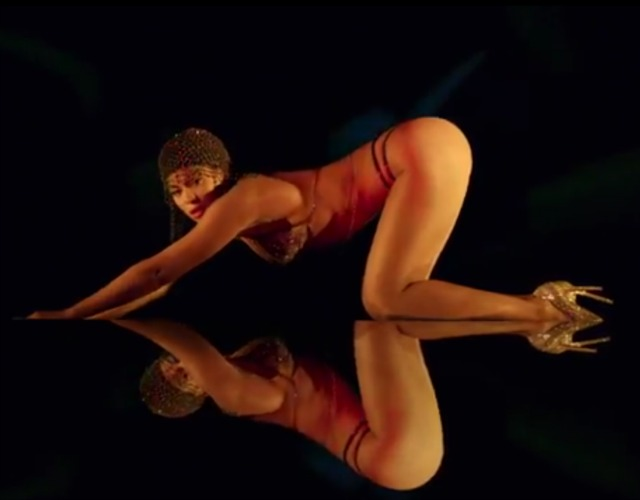 Beyonce in Partition video