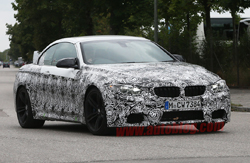BMW M4 Convertible spy shots