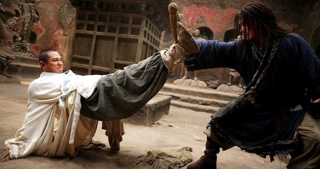 THE FORBIDDEN KINGDOM, Jet Li, Jackie Chan, 2008. ©Lions Gate/courtesy Everett Collection