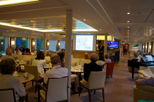 river cruise educational lecture