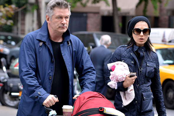 alec baldwin outraed by baby Carmen subjected to pat down by airport security in Bahamas