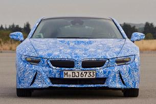 2014 BMW i8 Prototype front view