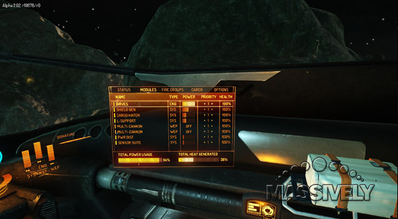 Elite Dangerous power usage