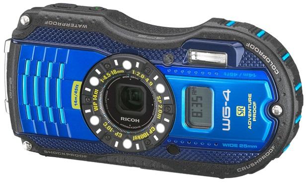 Ricoh 推出兩款強固的相機 WG-4 及 WG-20,首次拿掉 DC 的 Pentax 招牌