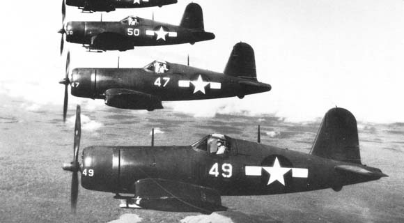 Corsairs over Maui, 1945