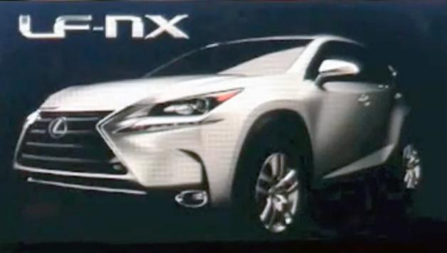 【ビデオ】北米トヨタ社長が新型レクサス「NX」をチラ見せ?