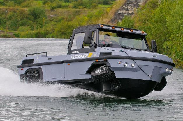 【ビデオ】米の水陸両用車メーカーが津波対策のため東南アジアで製造・販売へ!