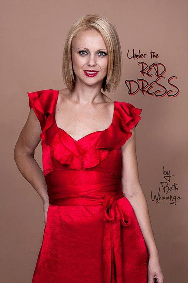 Beth Whaanga Under The Red Dress