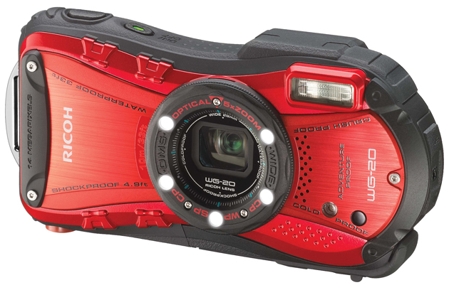 Ricoh WG-20 rugged camera