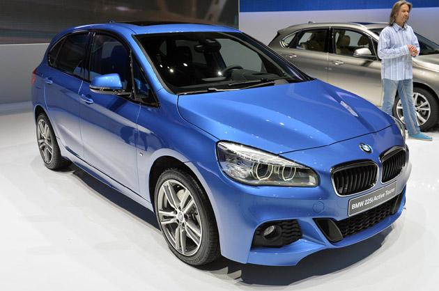 【ジュネーブ2014】BMWのFFミニバン「2シリーズ アクティブツアラー」が初公開!