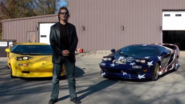 【ビデオ】生産はたった14台! 幻のアメリカンスーパーカーが走る!!