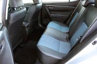 2014 Toyota Corolla rear seats