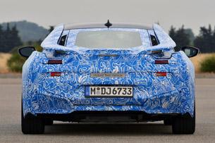 2014 BMW i8 Prototype rear view