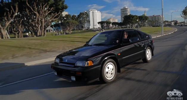 【ビデオ】1987年式のホンダ「CR-X Si」に惚れ込んだ米国のオーナー