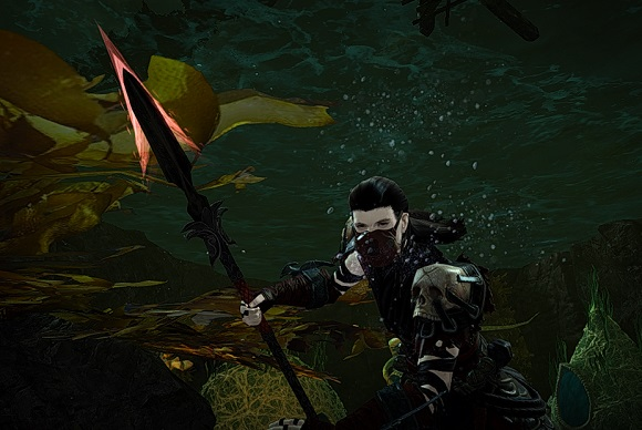 Necromancer underwater combat