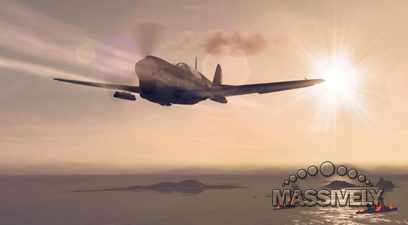 World of Warplanes P40