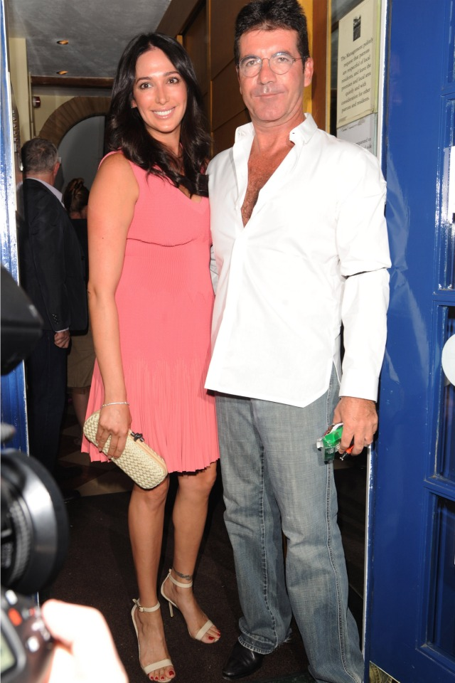 Simon-Cowell-and-Lauren-Silverman-new-parents
