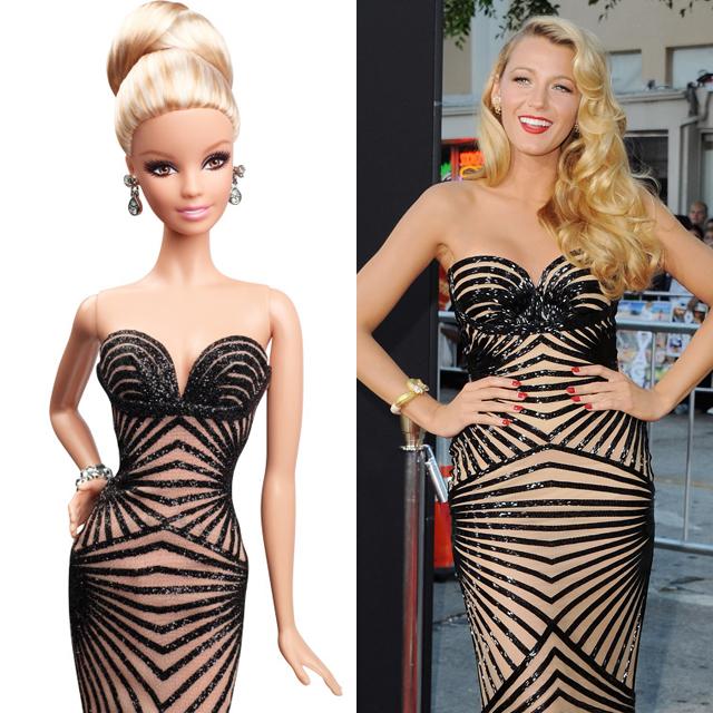 Blake Lively barbie