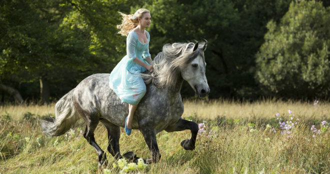 cinderella first look photo