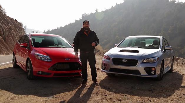 【ビデオ】スバル「WRX」とフォード「フォーカスST」を徹底比較