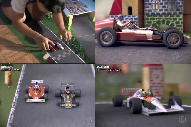 【ビデオ】F1マシンの進化の過程がよくわかるCG映像!