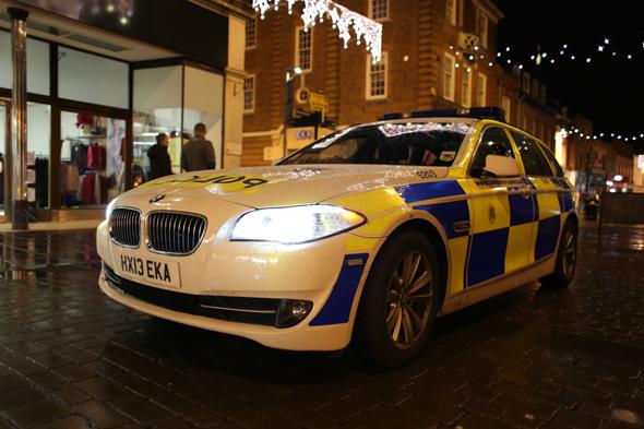 Police BMW 530d