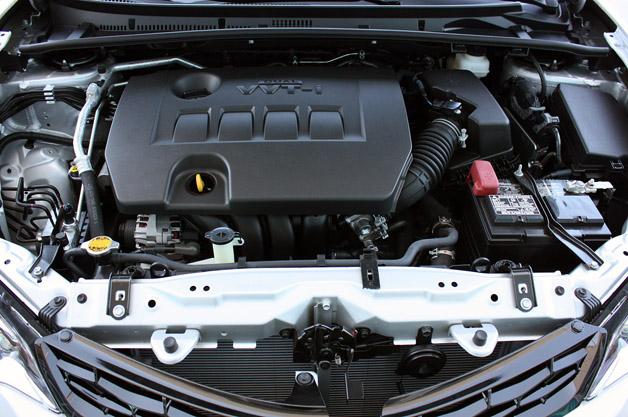 2014 Toyota Corolla engine