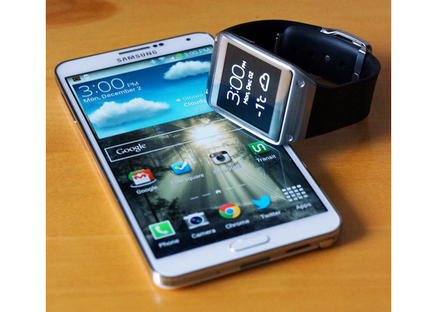 IRL: Samsung Galaxy Note 3 and the Galaxy Gear