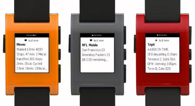 對應 iOS 7 通知中心功能的 Pebble 智慧手錶 app 已經開放下載囉!