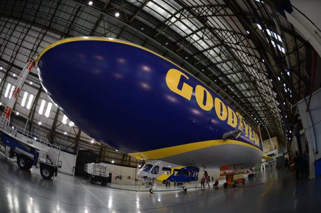 【ビデオ】性能もサイズも大幅アップ! グッドイヤーが公開した新たな飛行船