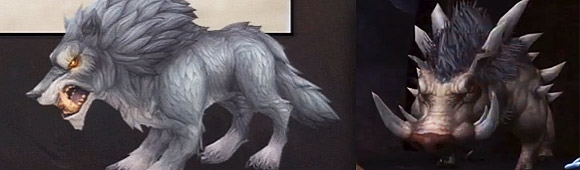 Warlords of Draenor hunter pets