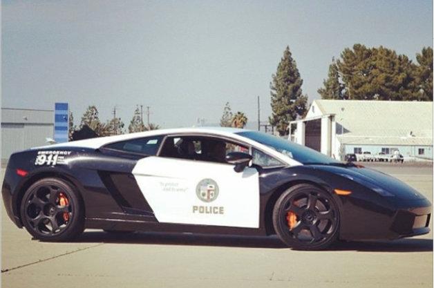 【レポート】ドバイ警察に対抗!? ロス市警が「ガヤルド」のパトカーを公開