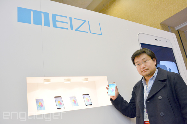 Meizu VP of Marketing and Sales, Li Nan