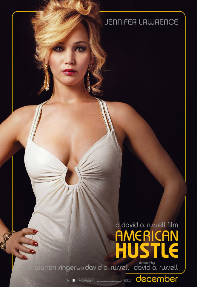 american hustle poster jennifer lawrence