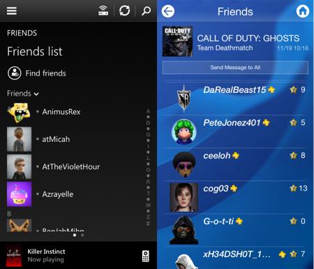 Xbox One SmartGlass vs  PlayStation App: Battle of the