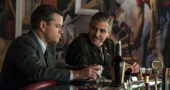 monuments men unscripted