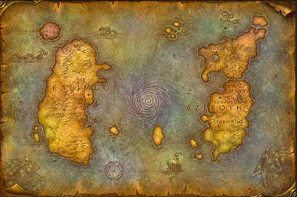 Azeroth And Beyond Nine Years Of World Of Warcraft