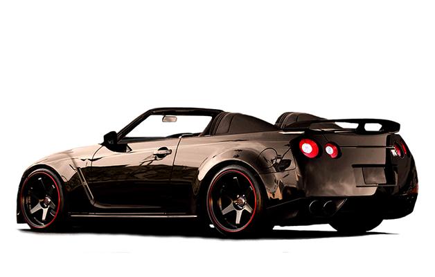 【ビデオ】米のショップが製作した3タイプの日産「GT-Rコンバーチブル」