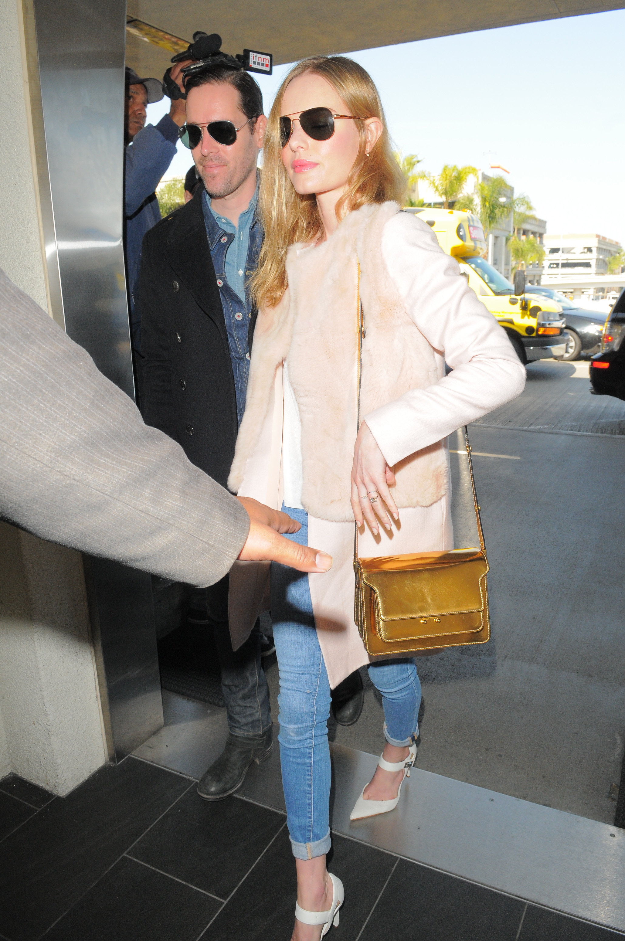 Celebrity Sightings In Los Angeles - February 10, 2014