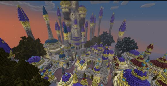 Crafting Azeroth recreates World of Warcraft in Minecraft – Map World of Warcraft Minecraft