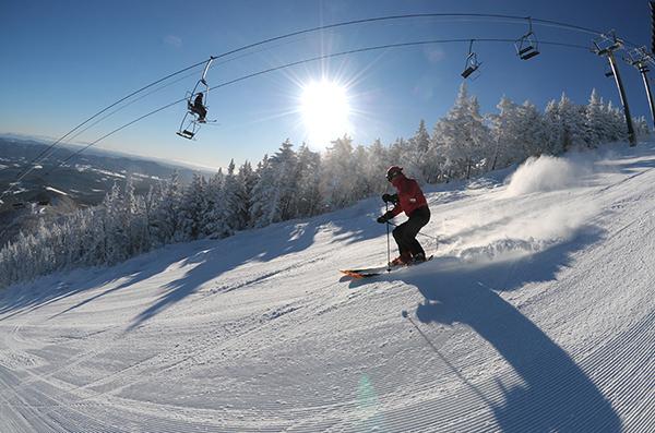 Sugarbush Vermont skier