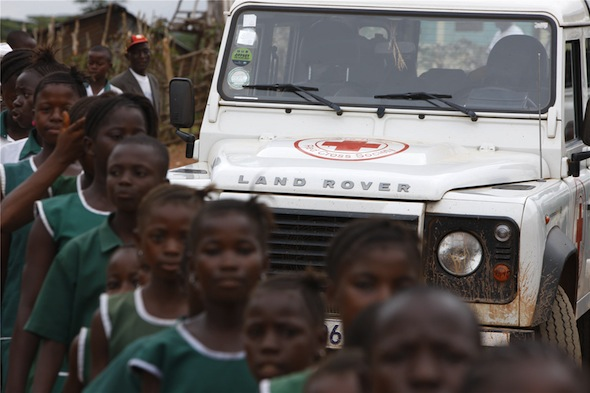 Land Rover Africa Red Cross