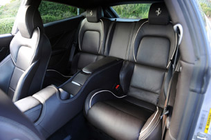 2013 Ferrari FF rear seats