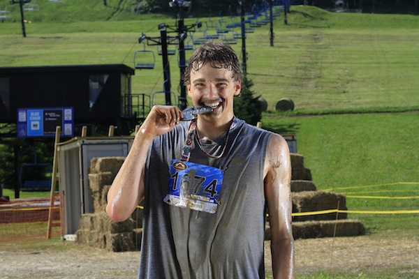 Olympian slopestyle skier Nick Goepper at Perfect North Slopes in Lawrenceburg, Indiana