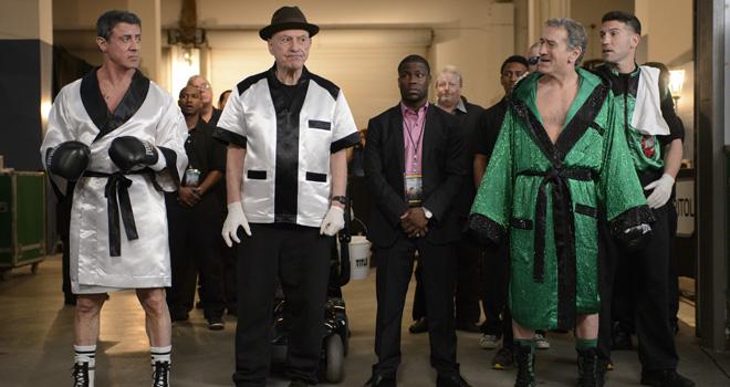 Sylvester Stallone and Robert De Niro in 'Grudge Match'