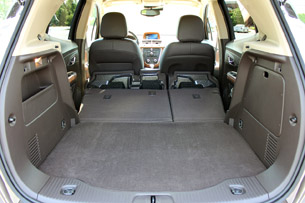 2013 Buick Encore rear cargo area