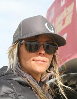 North American LSR car pilot Jessi Combs